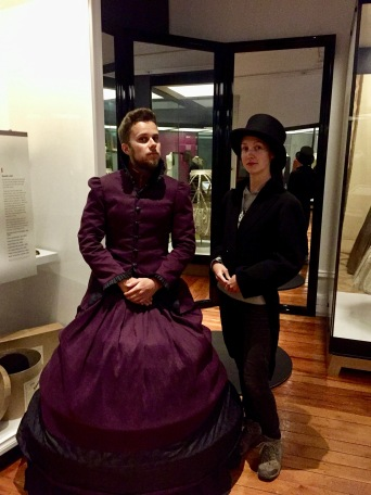 Verkleiden im Toitu Otago Settlers Museum in Dunedin