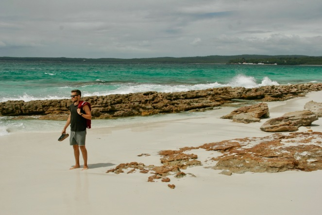 Blendend weißer Strand - Hyams Beach