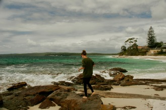 Jasmin beim Hyams Beach