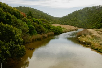 Kennett River am Ende der Great Ocean Road