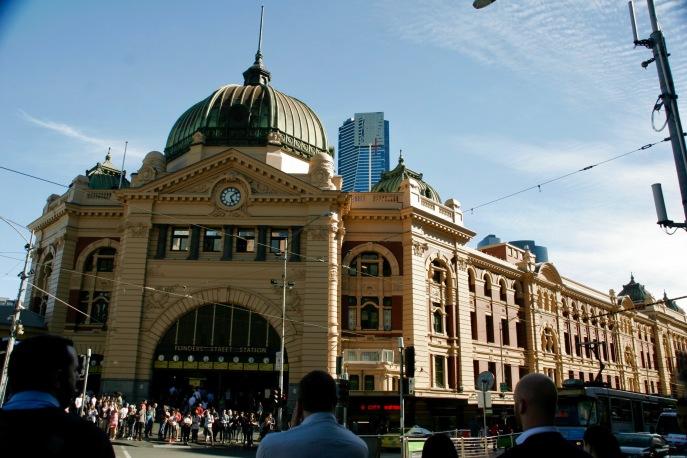 Erste Tour durch Melbourne