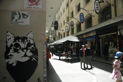 Street Art im Herzen Melbournes