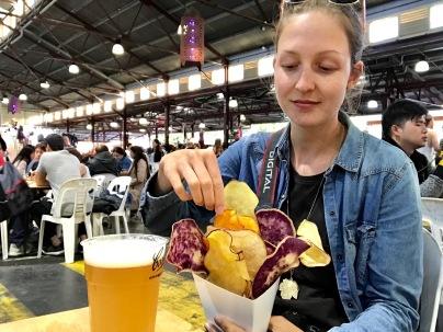 Food Market in Melbourne