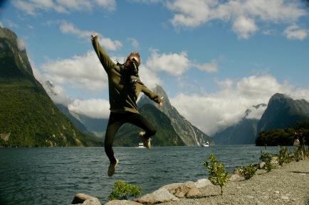 Milford Sound Glücksgefühle