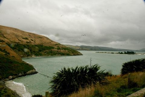 Schlechtes Wetter auf der Otago Halbinsel