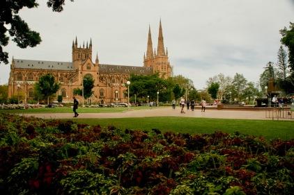 Wunderschöne Kirchen in Sydney