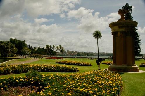 Botanischer Garten bei schönstem Wetter in Sydney