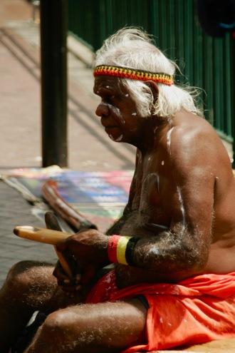 Aborigine in Sydney