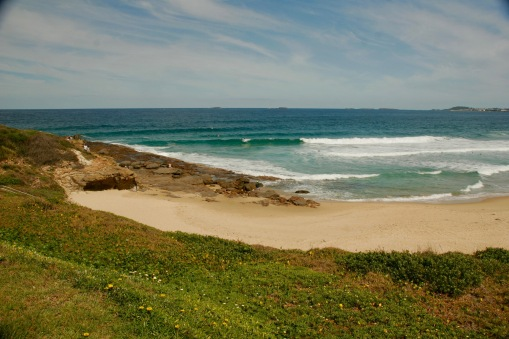 Traumhafter Strand in Wollongong