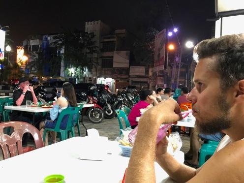 Abendessen in Medan