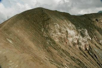 Alex am Rande des Kraters