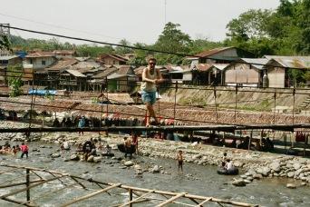 Alex in Bukit Lawang