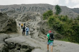 Aufstieg zum Mount Bromo Krater