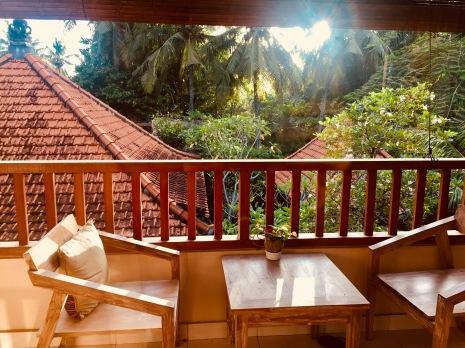 Soca Garden Guesthouse Terrasse