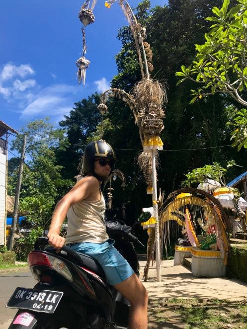 Mit dem Roller durch Bali