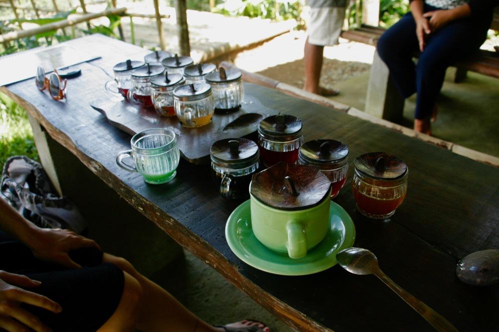 Bhuana Asri Tee- und Kaffeeverkostung