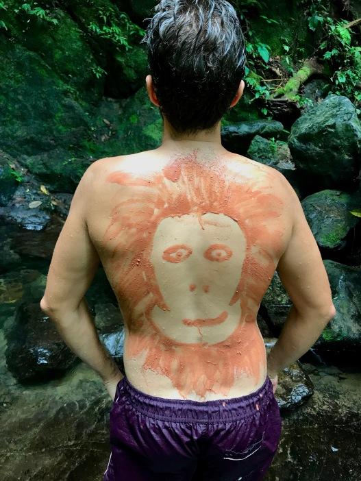 Bodypainting auf Dschungelart