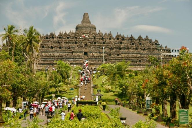 Borobodur Tempel 01