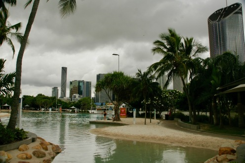 Streets Beach in South Bank, Brisbane