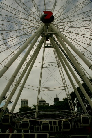 Riesenrad in Brisbane