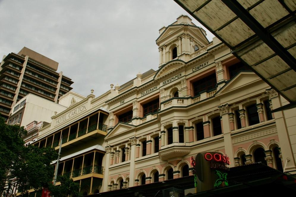 Viktorianische Gebäude in Brisbane