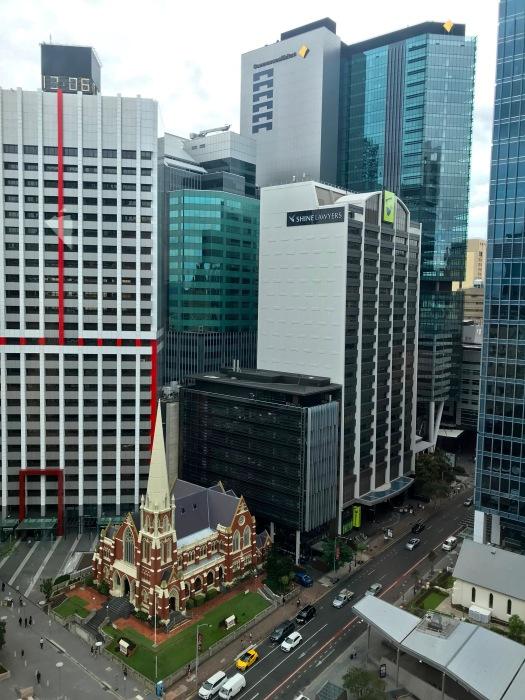 Brisbane vom Clock Tower