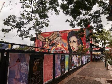Street Art in Chinatown, Brisbane