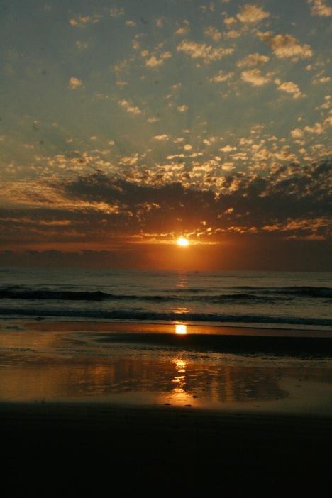 Sonnenaufgang auf Fraser Island