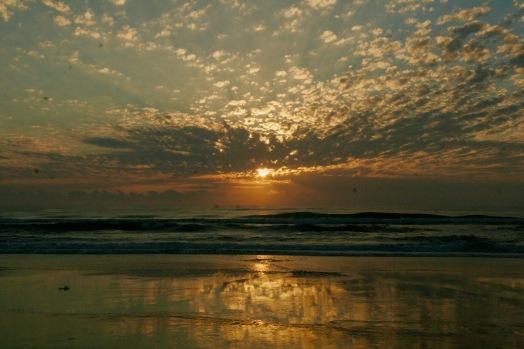 6.00 Uhr Sonnenaufgang