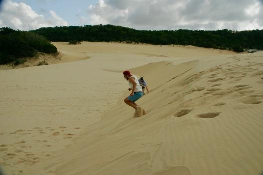Sanddünen auf Fraser Island