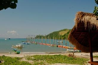 Kleines Dörfchen Kuta, Lombok