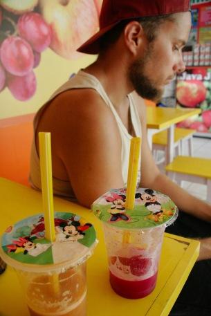 Leckere Fruchtsäfte in Yogjakarta