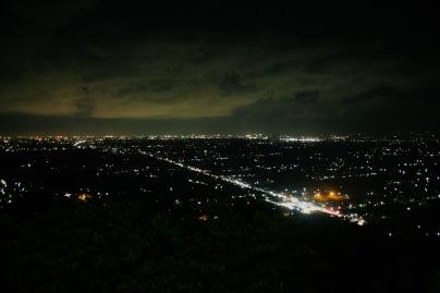 Lichter der Stadt vom Bukit Bintang