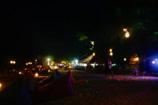 Nachtleben auf Gili Air