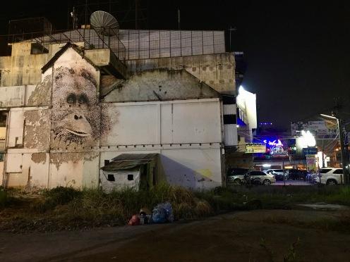 Orang Utan Grafitti in Medan