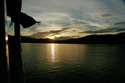 Sonnenuntergang im Komodo Nationalpark