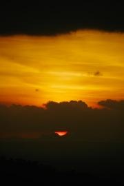 Sonnenuntergang vom Bukit Bintang