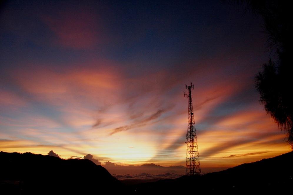 Spektakulärer Sonnenaufgang beim Mount Bromo