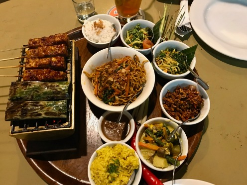 Vegetarische Platte in Seminyak