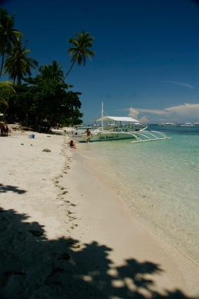 Alona Beach auf Bohol