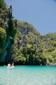 Big Lagoon mit wunderschönen Farben