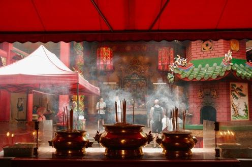 Buddhistischer Tempel in Chinatown, Kuala Lumpur