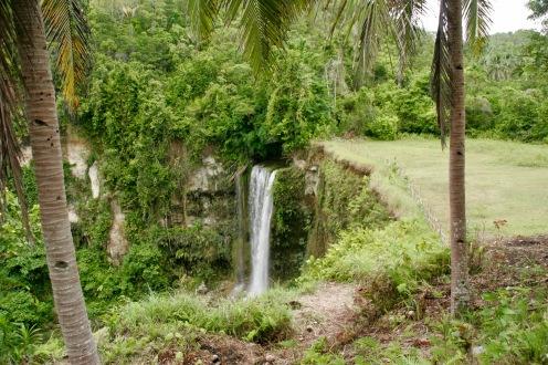 Camugao Wasserfall von oben