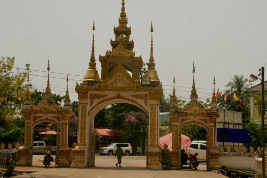 Eingang zum Wat Sok Pa Luang