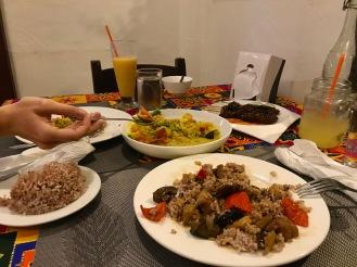 Endlich! Leckeres Essen im einzigen veganen Restaurant der Stadt