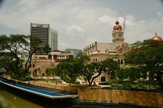 Entstehungsstelle der Stadt Kuala Lumpur