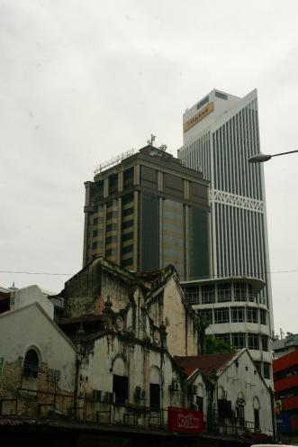 Fassaden in Kuala Lumpur