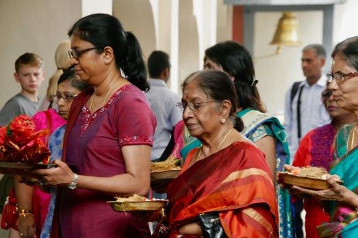 Gaben im hinduistischen Tempel