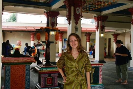Jasmin im Sri Mariamman Tempel