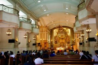 Kathedrale in Cebu von innen